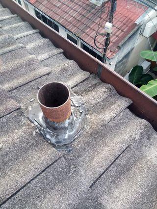 Membaik pulih bumbung bocor