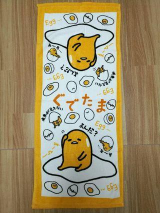 包平郵 Gudetama蛋黃哥毛巾浴巾