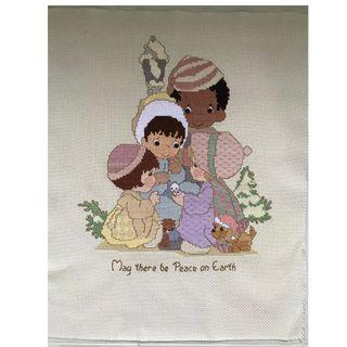 Cross Stitch - May there be Peace on Earth