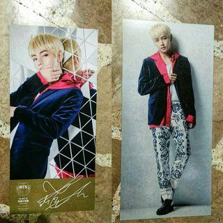 BTS Taehyung Best of BTS photocard