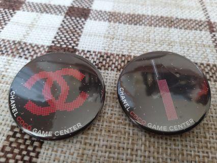 Chanel Pins x 2pcs