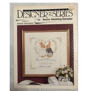Cross Stitch Book - Bunny Wedding