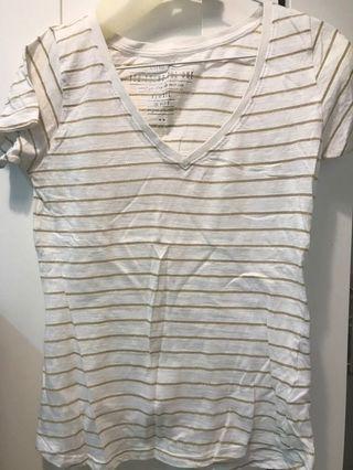 Cotton On Gold stripe Tshirt