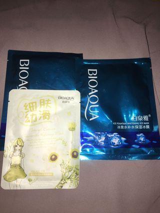 sheet mask Bioaqua masker korea Take All