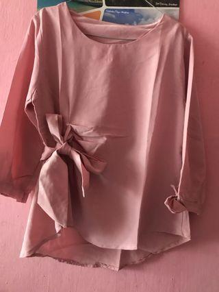 Blouse pita soft pink