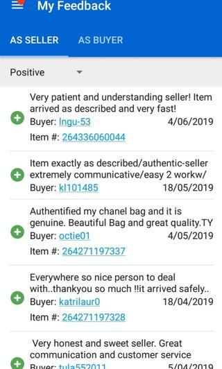 Authentic Chanel Hermes bags