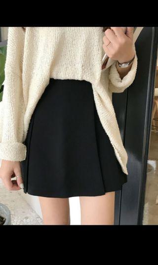 🚚 韓版黑色短裙
