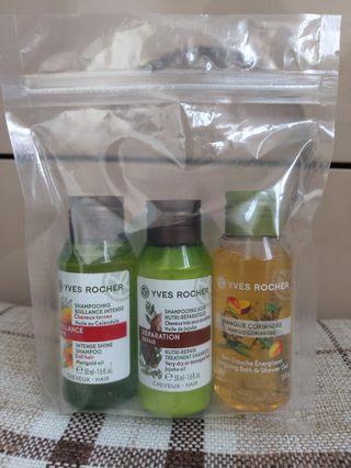 Yves Rocher Shampoo & Body wash (50ml each)