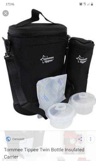 Tommee Tippee Twin Bottle Insulated Bag