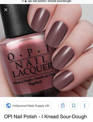 OPI Nail Polish Knead Sourdough