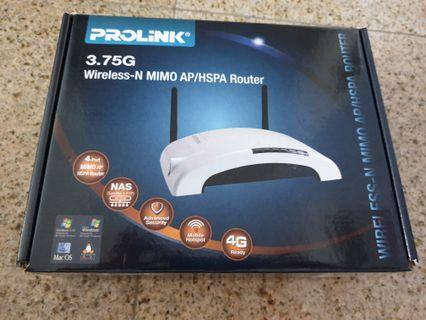 Prolink router