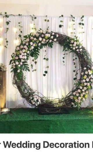 White Cloth for Wedding Deco Table Cover Wedding backdrop