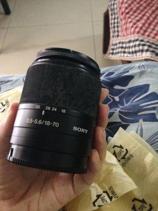 Lensa sony DT18 70mm f3.5-5.6