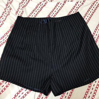 黑色 直間 返工褲