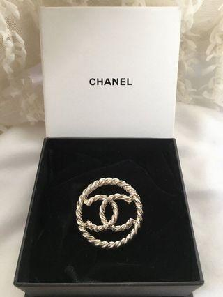 Chanel Brooch 銀色胸針