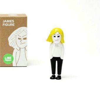 Line friends James figure