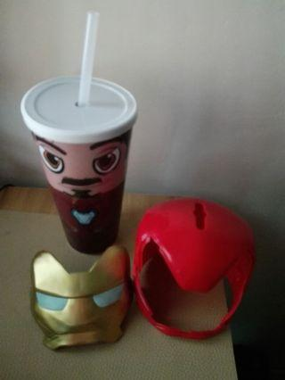 Marvel Iron man cold cup