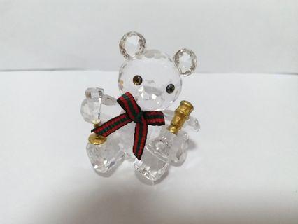 Swarovski Crystal kris bear Celebration