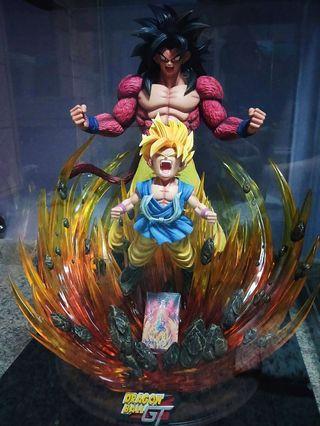 WTS/WTT Dragonball GT Super Saiyan 4 Goku Awaken 1/4 Scale Resin Statue