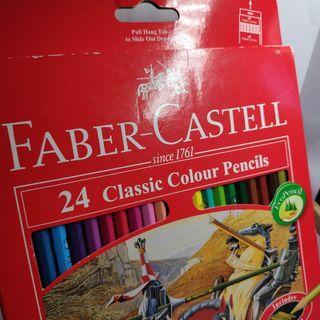 24 classic colour pencils Faber Castell