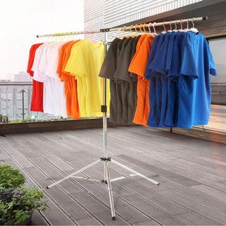 LAST SET !! Foldable Heavy Duty Stainless Steel Laundry Drying Rack