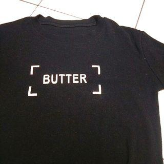 🚚 黑色字母短t