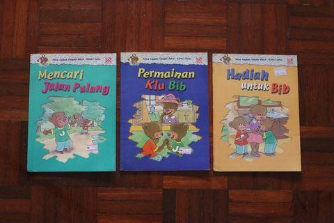 Buku Kanak-kanak /Malay children's books/ pelangi books