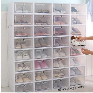 kotak sepatu / box sepatu / stackable box / shoebox