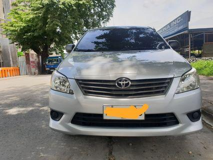 2014 Toyota Innova E 2.7 AT Gas Engine