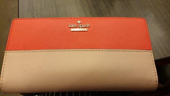 🚚 Kate spade 2 tone wallet