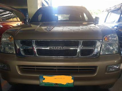 2005 Isuzu Dmax 4x4 AT Diesel Engine Pick up