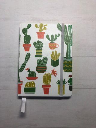 🚚 Notebook with cactus print