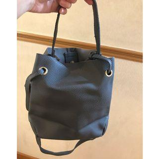 Leather hand/sling bag