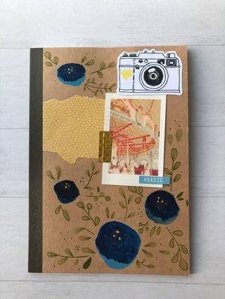 Muji notebook with design(front)