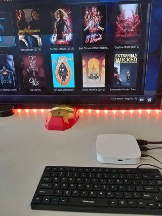 Hypp TV Box Modded For Movies with FREE KEYBOARD