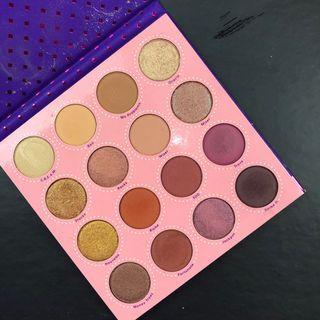 #maudandan Colourpop Eyeshadow Palette Fortune
