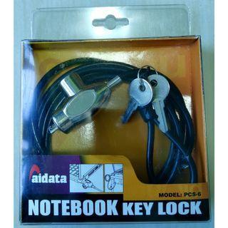 Notebook Key Lock
