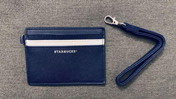 Starbucks Wristlet Navy Card Holder