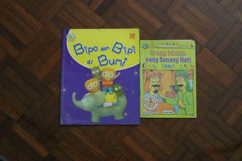 Assorted Malay Books