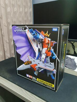 Transformers MP-11 Starscream with coin