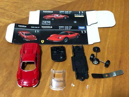 Tomica Premium 13 Ferrari Dino 246GT 未組裝