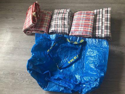 紅白藍 搬屋用 袋