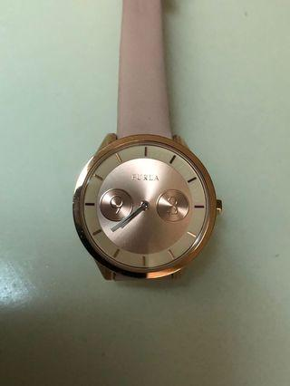 👩🏻‍🌾  FURLA Metropolis Rose Gold Dial Ladies Watch R4251102511