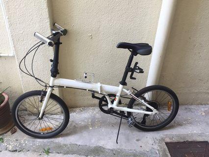 Folding bike 7speed