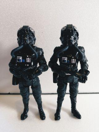 Tie Fighter Pilot Star Wars 3.75 Inch Figurines