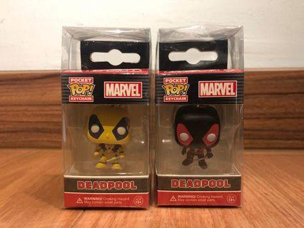 Funko Pop Keychain Deadpool