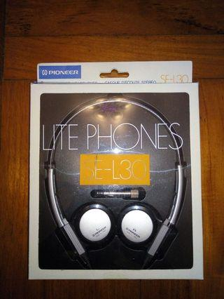 Pioneer SE-L30 Headphone headset earphone 耳筒 耳機 懷舊