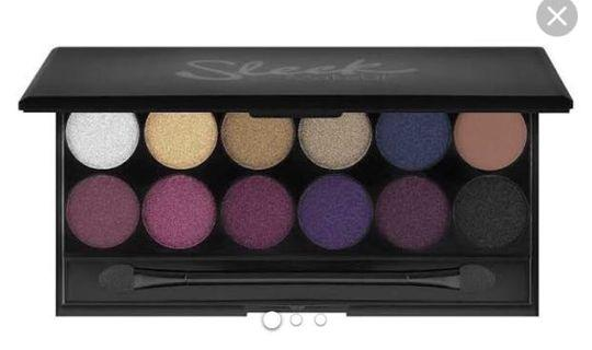 Sleek romance palette