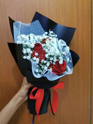 Money rose bouquet | Money flower | Wedding gift | Duit Hantaran