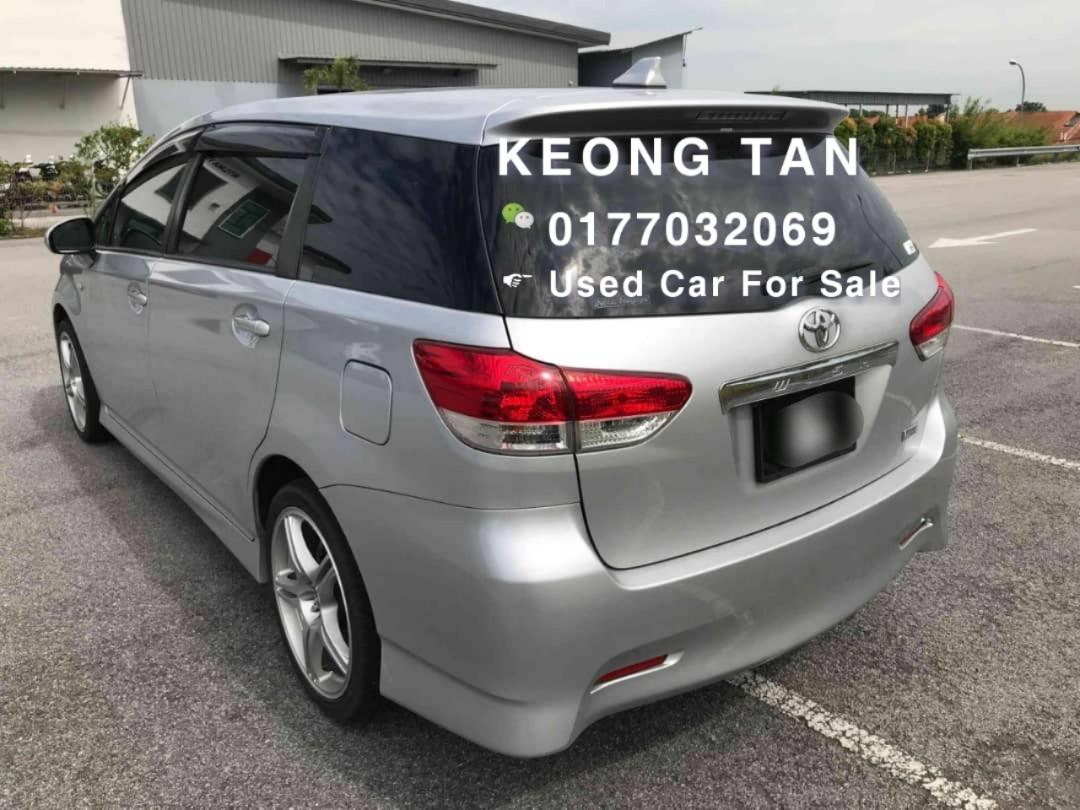 2009TH/Reg 2012🚘TOYOTA WISH 1.8AT Paddle Shift Cash💰OfferPrice!! Rm59,800 Only🎉Lowest Price InTown🎈